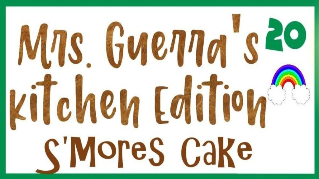 Kitchen Edition – S'mores Cake