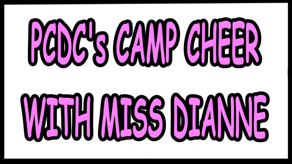 PCDC's Camp Cheer With Miss Diane